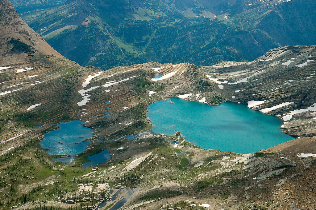 Glacial Lakes from the Air