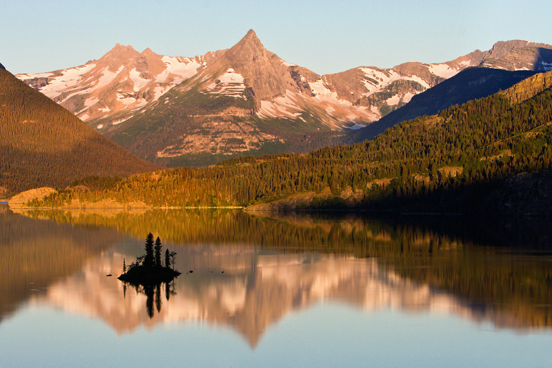 Early Morning on St Mary Lake