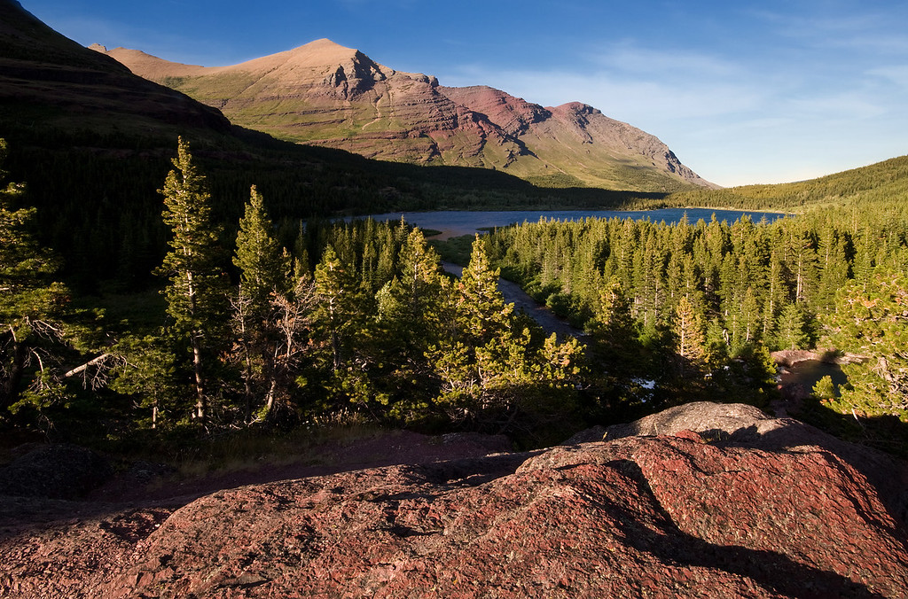 Red Rock Lake<br /> Glacier National Park
