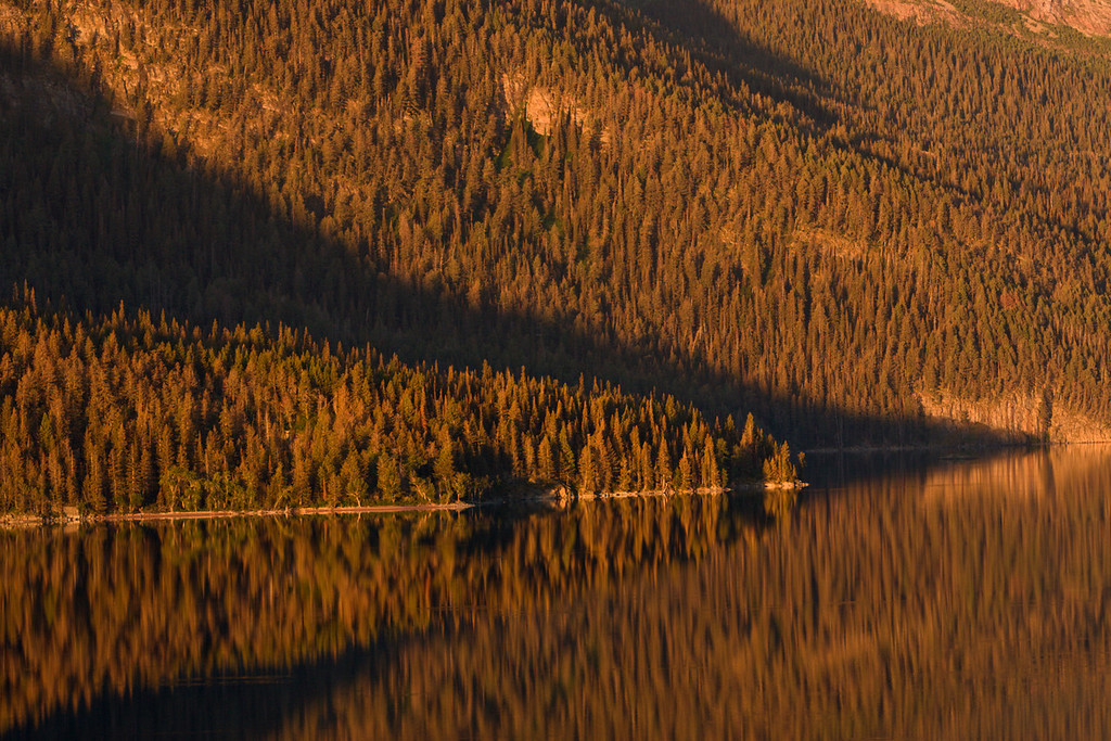 Morning Reflections on St Mary Lake 3