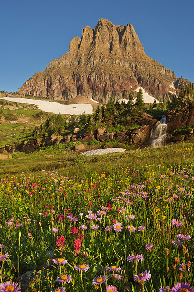 Mount Clements, Glacier National Park