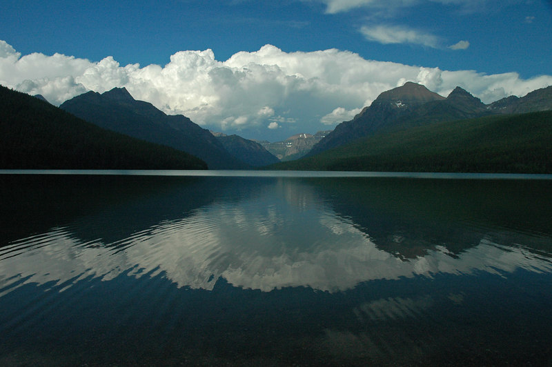 Bowman Lake, Glacier National Park, MT