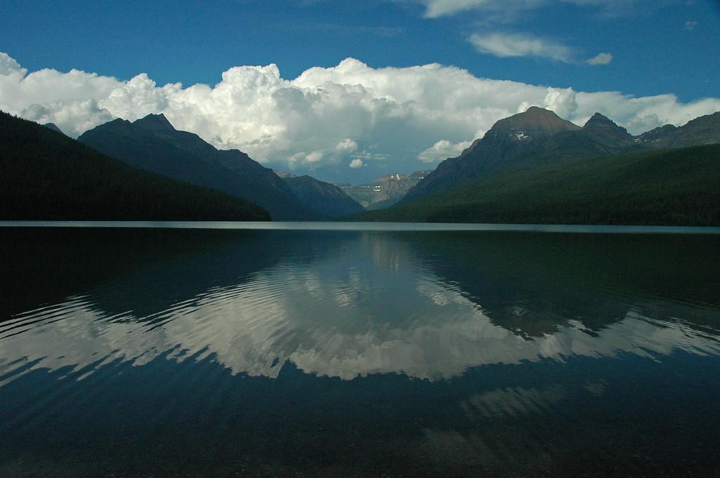 Bowman Lake, Glacier National Park, MT