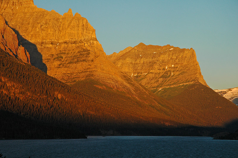 Sunrise at Sun Point, St Mary Lake