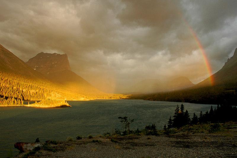 Sunrise at Sun Point, St Mary Lake