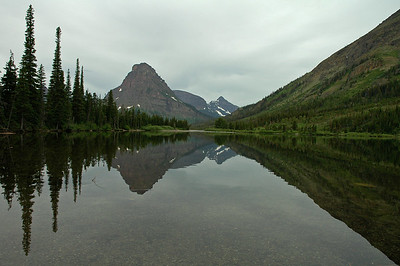 Small lake at Two Medicine Lake campground