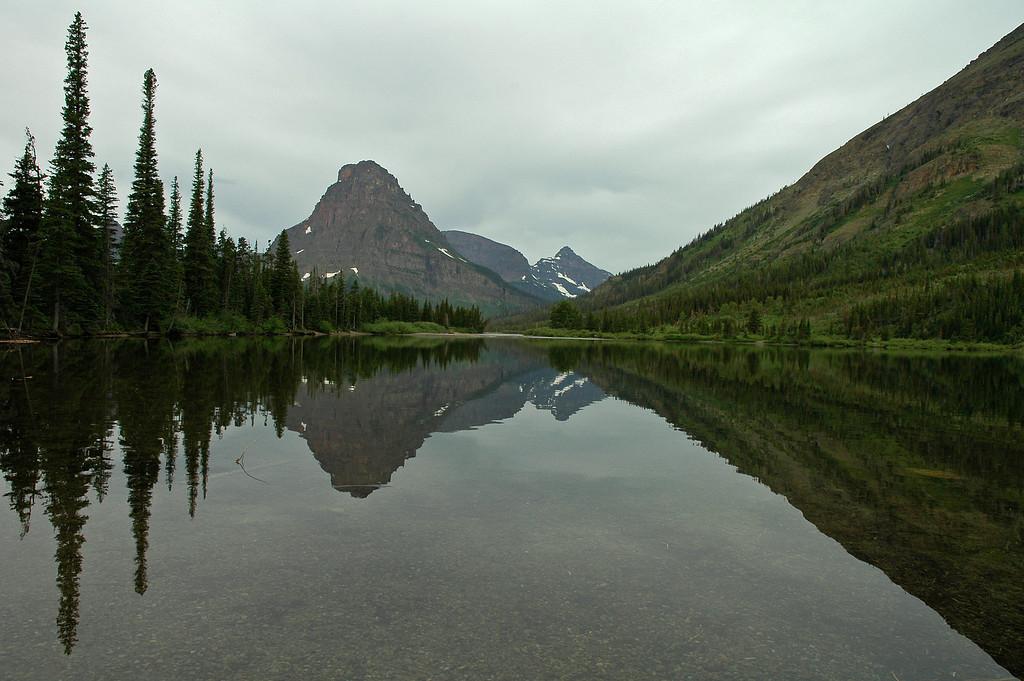 Small lake at Two Medicine Lake campground