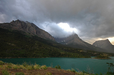 Sun Point at St Mary Lake