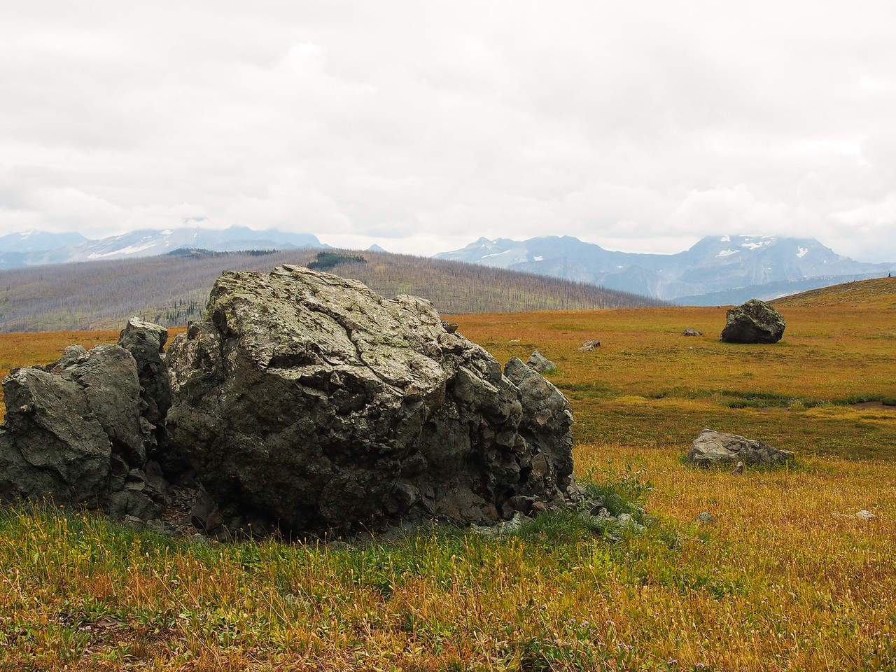 Day 3/5 - Boulders down from Cathedral Peak, Glacier NP