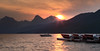Sunrise at Lake McDonald