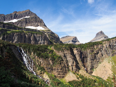 Day 2/5 - Hiking up Stoney Indian Trail, Glacier NP