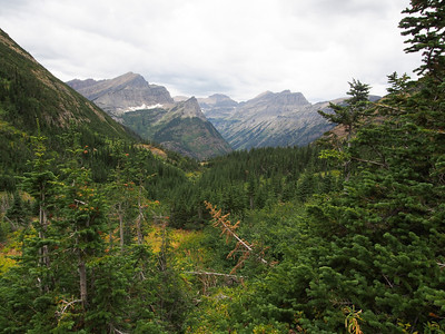Day 3/5 - Down into Waterton valley, Glacier NP