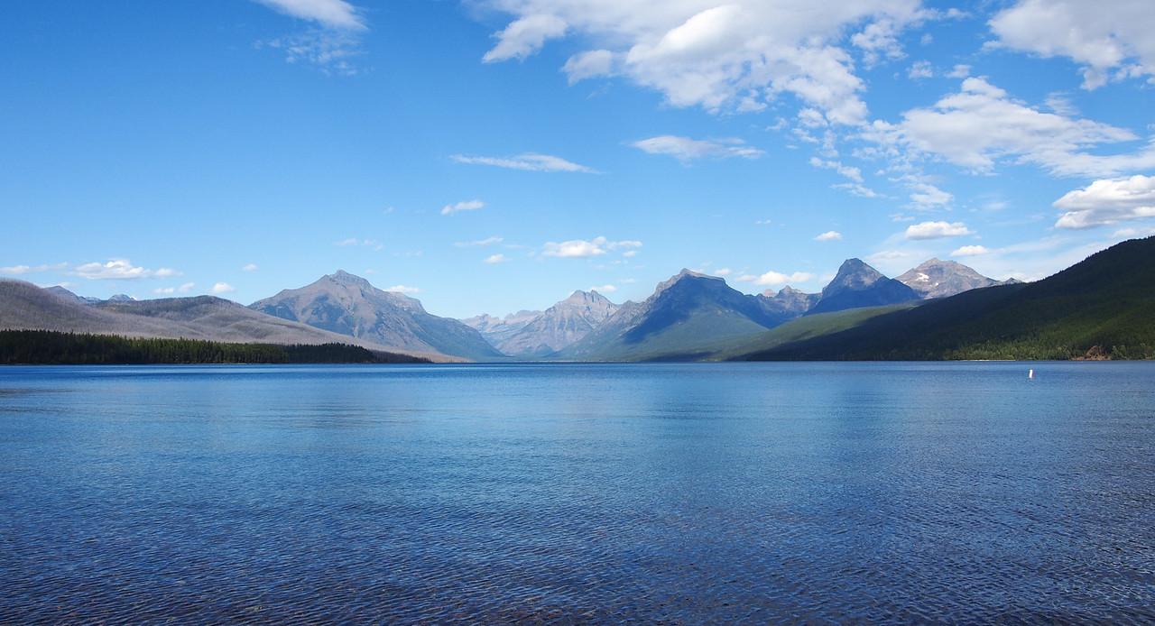 Lake McDonald from Apgar village, Glacier NP