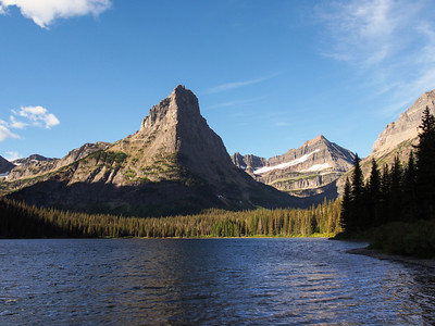 Day 1/5 - View of Glenns Lake from Foot Glenns Lake camp, Glacier NP