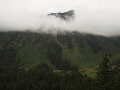 Day 3/5 - clouds over the Waterton valley, Glacier NP
