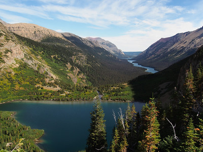 Day 2/5 - Atsina Lake  and Glenns Lake from Stoney Indian Trail, Glacier NP