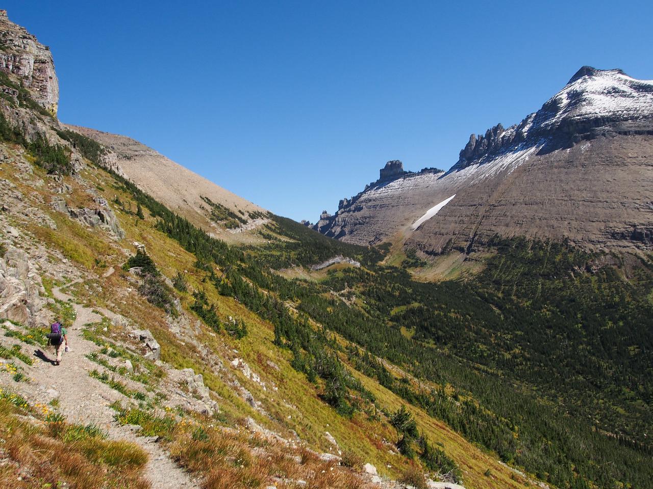 Day 4/5 - Iceberg Peak along Highline trail, Glacier NP