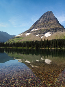 Bearhat moutain at Hidden Lake
