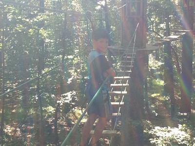 Go Ape Rock Creek July 31 2011