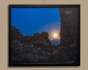 Moonrise Over La Sal Mountains UT