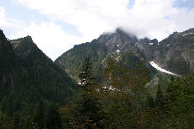 About 3/5 of the way up Golden Ears
