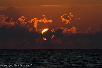Cedar Key sunset.