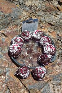 G O U R M E T   B P  (Gourmet Backpack Trip) Chocolate Beet cupcakes