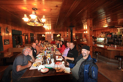 The last supper before launching - Marble Canyon Lodge