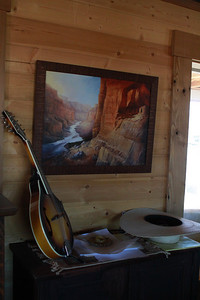 A view of things to come - Inside our bunkhouse at Hot Springs Ranch.