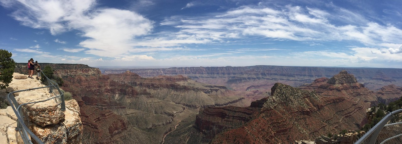 iPhone pano at Angels Window overlook.
