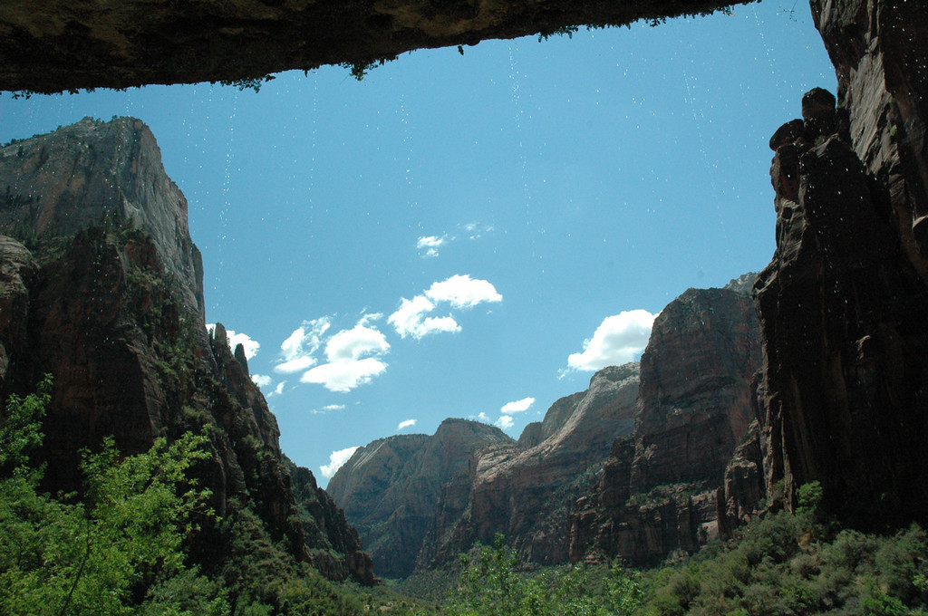 Zion National Park, Weeping Rock