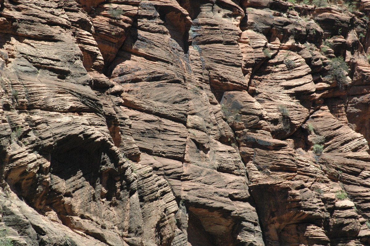 Zion National Park, cross bedding