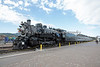 Grand Canyon Railway, Locomotive #4960, She is a 2-8-2, located at Williams Depot, Williams, AZ.  I was lucky to be there when they brought her out for some media filming.
