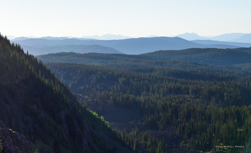 Looking toward the West Elk Mountains from Grand Mesa