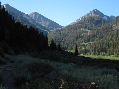 Farewell Gap, and Vandever Mt. on right.