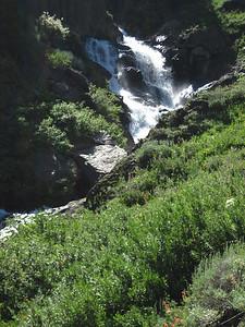 Cascades of Franklin Creek. Noisy!