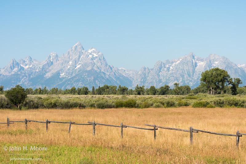 The Teton Mountains