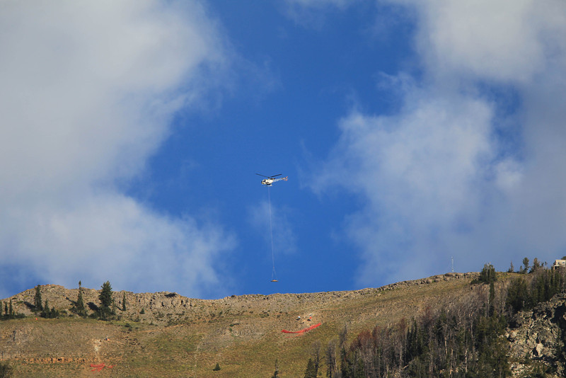 Mountain rescue practice
