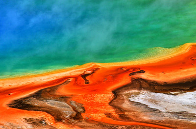 Yellowstone Abstract