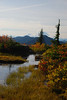 Cool little pond near the top of Granite Mountain made for interesting composition with Rainier in the background and the fall colors in the foreground.
