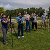 Viewing the partial eclipse and anticipating the totality soon