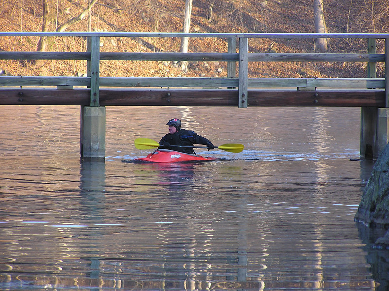 Kayaker in C&O Canal