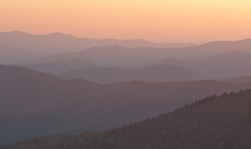 View SE from Clingman's Dome