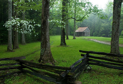 Carter Shields Cabin, Cades Cove, Great Smoky Mountains