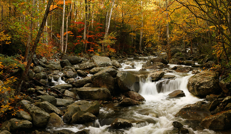 Autumn on the Greenbrier River