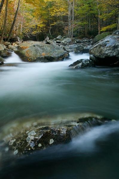 Autumn, Greenbrier River, GSMNP