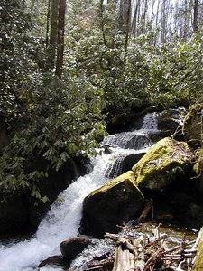 Upper Cascade on Mouse Creek.