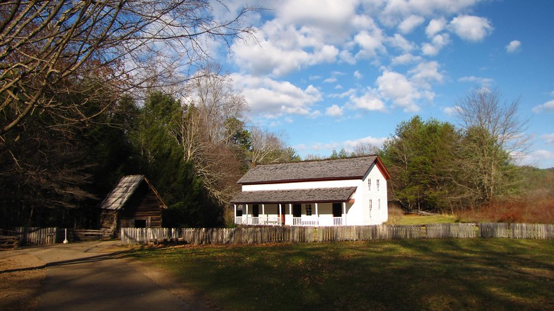 The Becky Cable house in Cades Cove