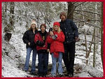 The Koogler Family on our Annual Xmas Morning hike in the Smokies. Went to Crooked Arm Cascade this particular morning!