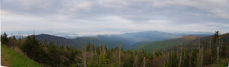 Clingmans Dome pano
